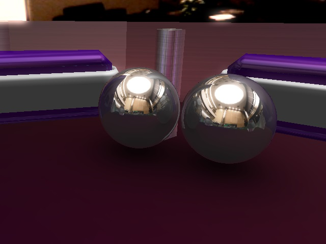 Table surface ambient occlusion